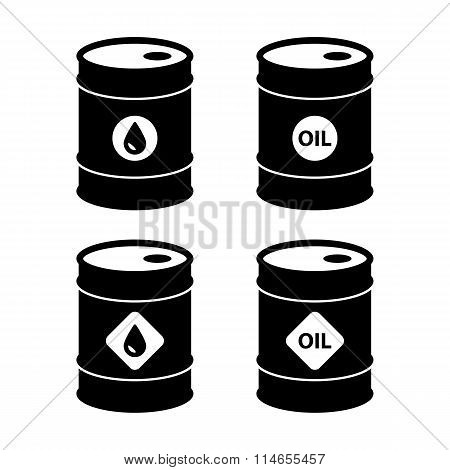 Oil Barrel Icons