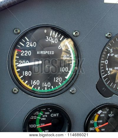 Airplane Flying Instruments Vector (part Two,with Frames)