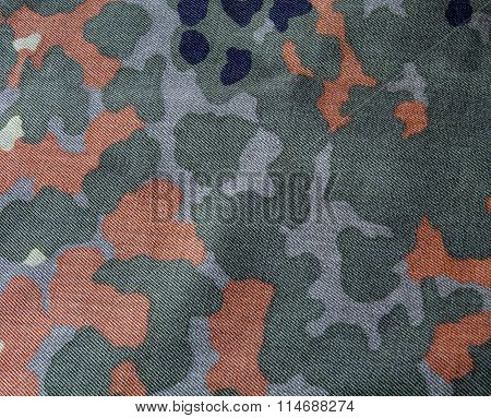 Green Khaki And Brown Camouflage