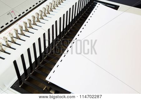Office Equipment Bookbinding