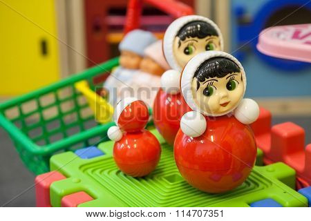 Toys In The Children's Playroom