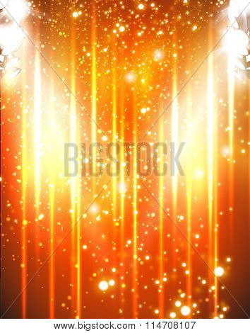 party light stage background easy editable