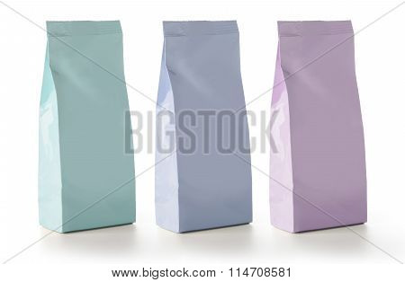 Blank Foil Food Snack Sachet Bags Packaging