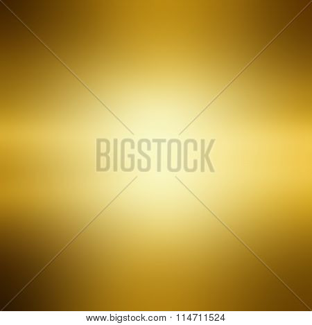 Abstract Gold Background Luxury Christmas Holiday, Wedding Background Brown Frame Bright Spotlight S