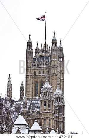 Victoria Tower on winter