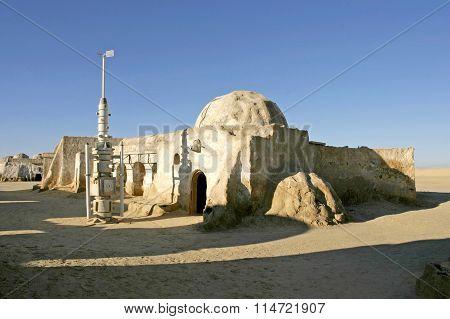 Star Wars Scenery Ong Jemel Near Nefta Tunisia