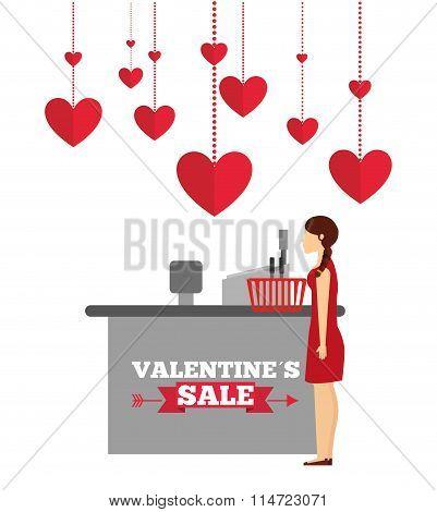 valentines sale design