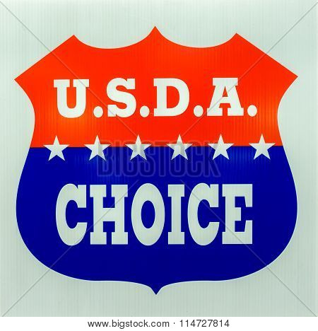Usda Choice Emblem And Logo