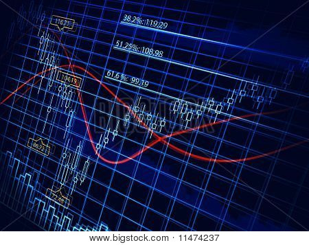 Abstract Stock Diagram