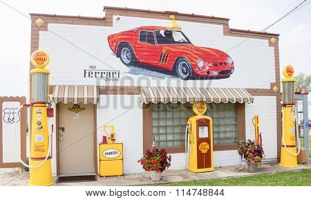 Restored Route 66 Garage At Dwight.jpg