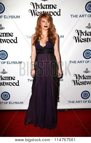 vLOS ANGELES - JAN 9:  Bella Thorne at the The Art of Elysium Ninth Annual Heaven Gala at the 3LABS on January 9, 2016 in Culver City, CA