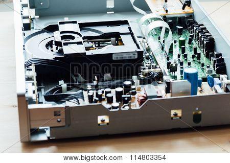 cd player inside