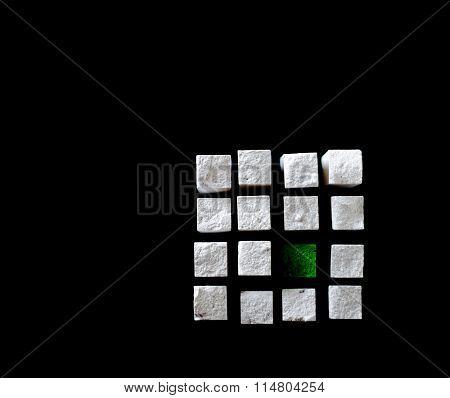 Chalk Cube V., Logo