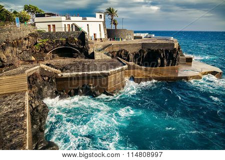 At The Bath Complex Lido In Funchal