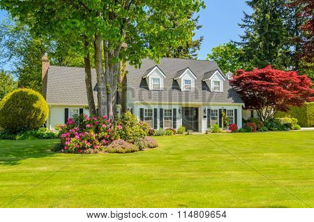 North American Home in the suburbs.