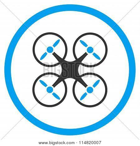 Nanocopter Flat Icon