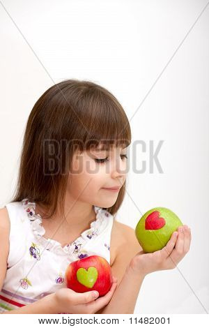 Favourite Apples Of The Girl