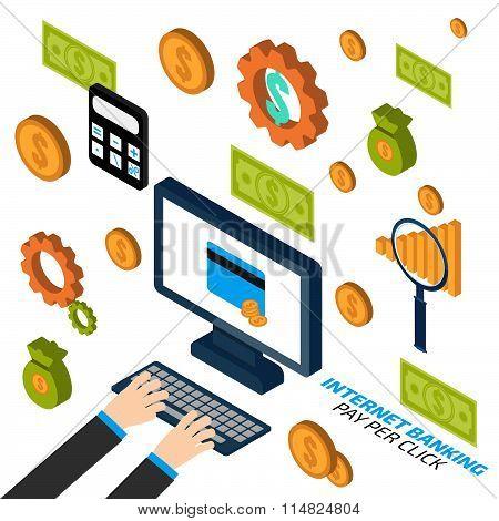Internet Banking. Pay Per Click