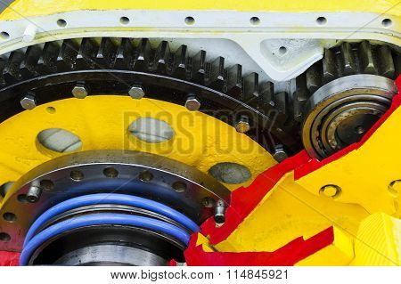 Drive gear and bearings