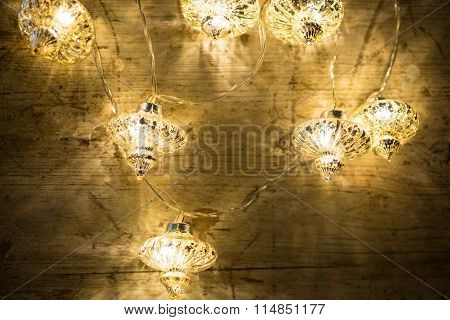 Crystal Clear Lantern Light Chain