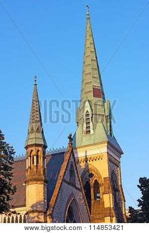 The Church of the Ascension and Saint Agnes in Washington DC USA.