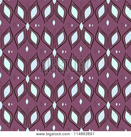 pattern textile waves