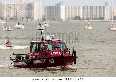 City Of Miami Fire Rescue Boat