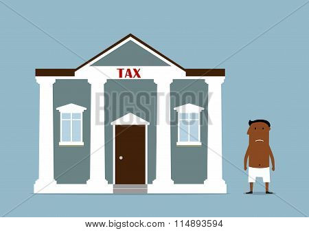 Businessman turned bankrupt after taxes