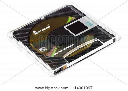 One Black Minidisc
