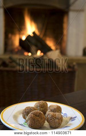 Fried Chicken Balls