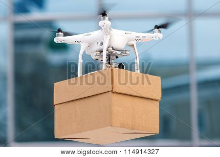 Drone is a tool for delivery.