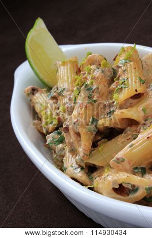 food photos of penne paster appetizer starter