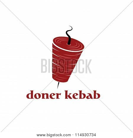 Doner Kebab Vector Design Template