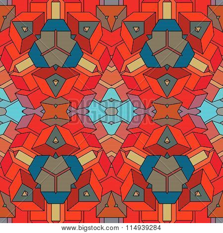 Geometric Abstract Background.