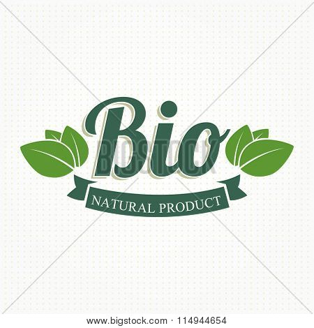 Eco Bio Vintage Label
