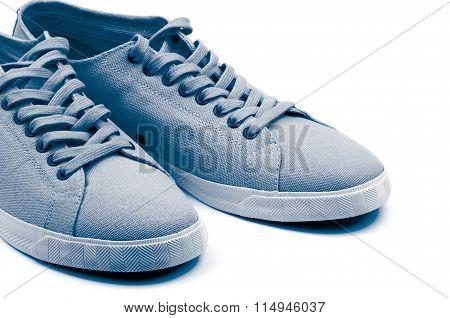 Grey Gym Shoes