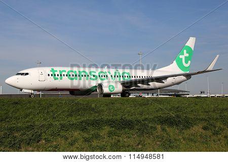 Transavia Boeing 737-800 Airplane