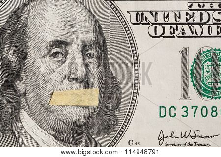 Dollars Usa, A Symbol Of Instability Of The Economy