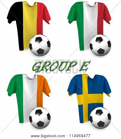 Group E European Football 2016