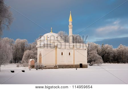 Tsarskoye Selo. Russia. The Turkish Bath Pavilion