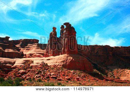 Park Avenue Fantastic Rock Formations