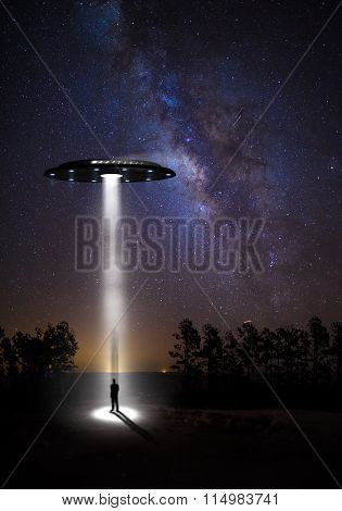 The Starry Sky And Ufos
