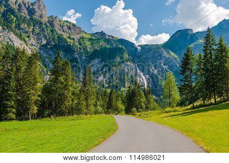 Adelboden Swiss Scenery
