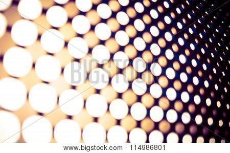 Led Lights Panel Backdrop