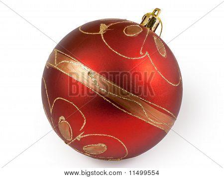 Big Red Christmas Ball