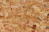 close up of oriented strand board (OSB) poster