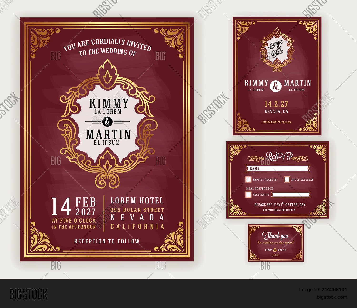 Vintage Luxurious Vector & Photo (Free Trial) | Bigstock