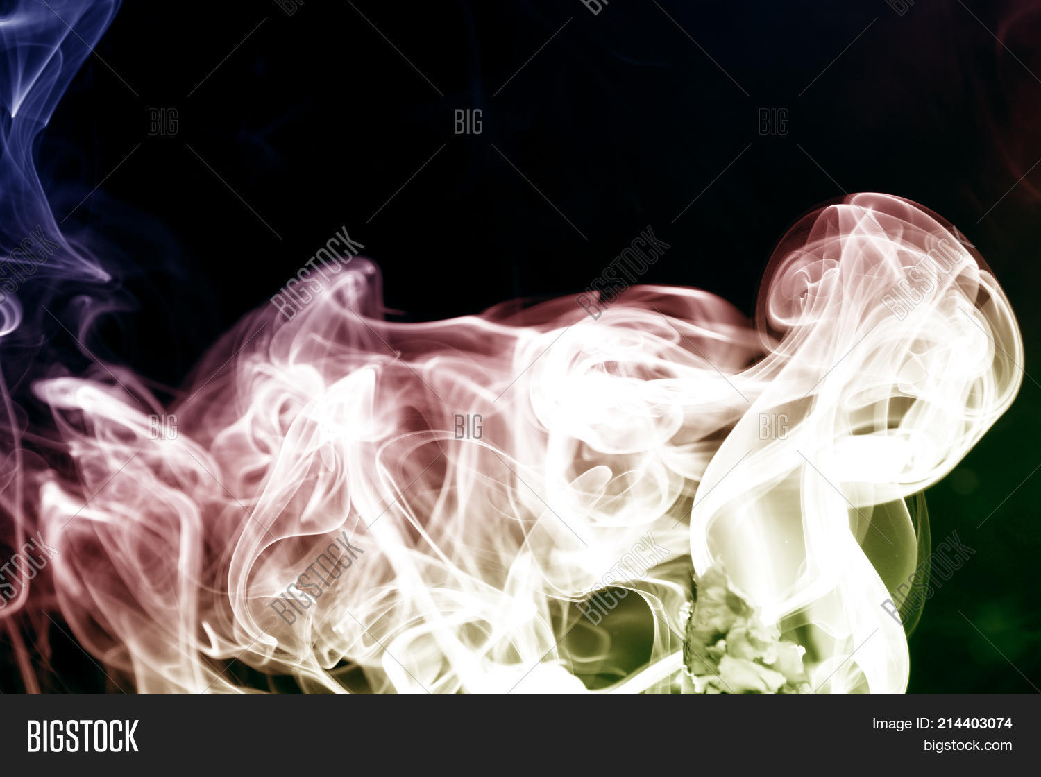 Smoke Abstract As Wallpaper Is A Collection Of Airborne Solid And Liquid Particulates