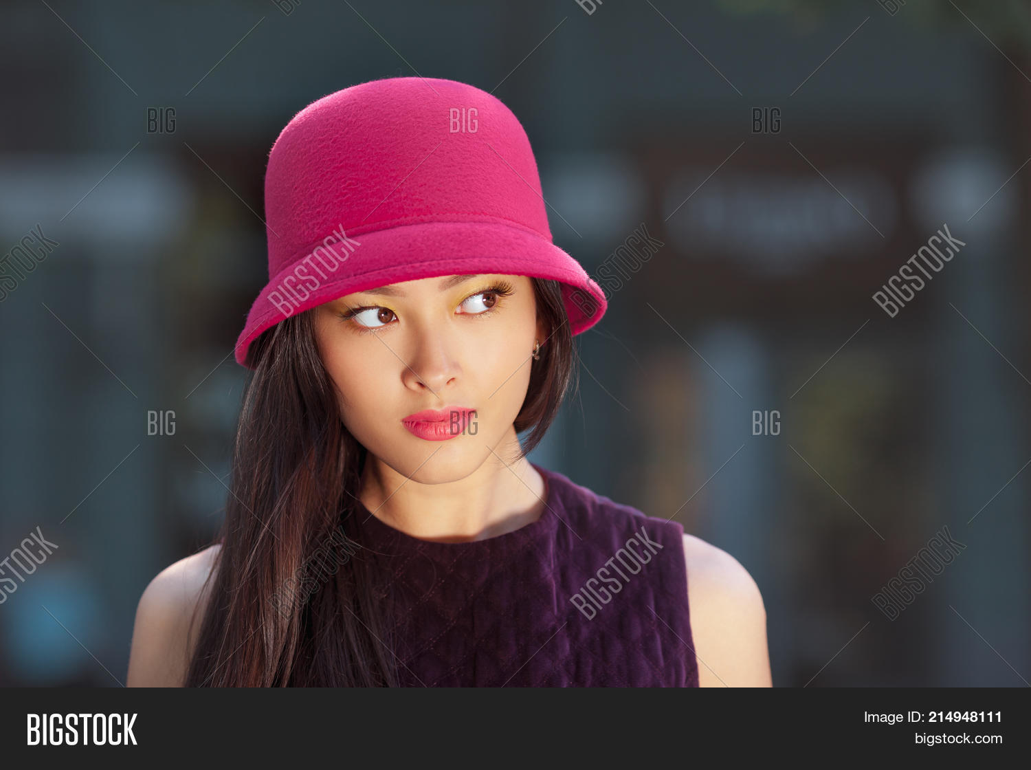 Attractive Asian Woman Image Photo Free Trial Bigstock