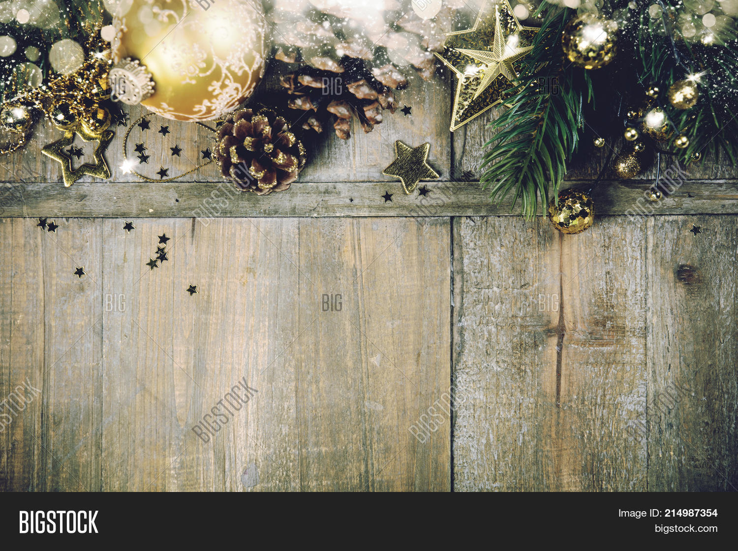 Christmas Wood Background.Rustic Wood Background Image Photo Free Trial Bigstock